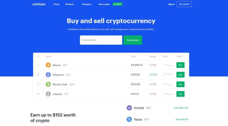 CoinBase: Οδηγός αγοράς [guide] κρυπτονομισμάτων